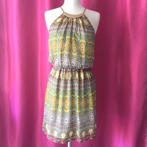 🍀SALE🍀Sleeveless Printed Dress